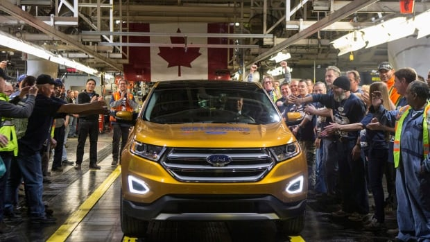 The Edge, above, is one success story in Canada's auto manufacturing sector. Ford announced last year that its assembly plant in Oakville, Ont., would produce the crossover vehicle for global production - the kind of contract that all assembly plants covet.