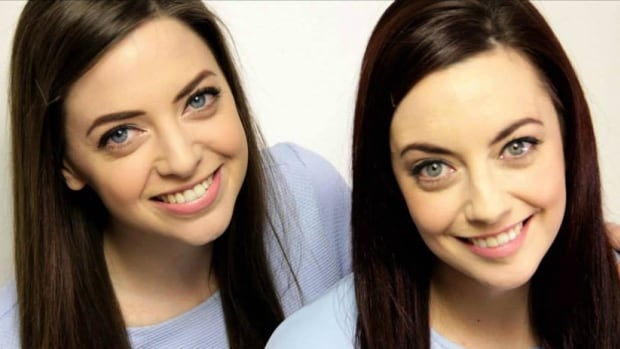"Niamh Geaney and Karen Branigan found each through a Facebook page set up to find ""twin strangers."""
