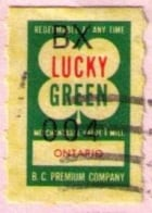 Lucky Green stamp