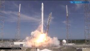 Space X Falcon 9 Launch April 14, 2015