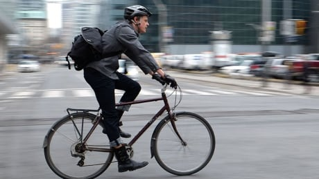 Cycling on the street