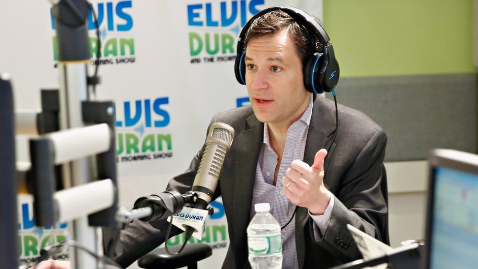 "NEW YORK, NY - MARCH 28:  (EXCLUSIVE COVERAGE) ABC News correspondant/ co-anchor for Nightline Dan Harris visits The ""Elvis Duran Z100 Morning Show"" to discuss his new book '10% Happier' at Z100 Studio on March 28, 2014 in New York City.  (Photo by Cindy Ord/Getty Images)"