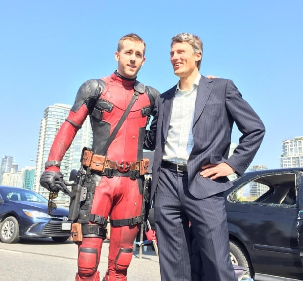 Ryan Reynolds Gregor Robertson Deadpool
