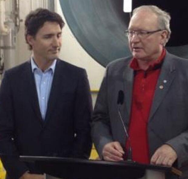 Justin Trudeau, Wade MacLauchlan