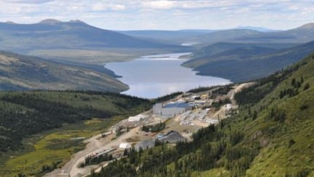 Yukon Zinc's Wolverine Mine, pictured in August 2012.