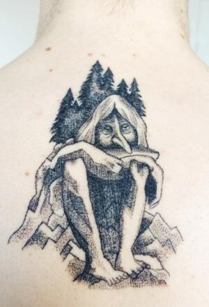Stick and poke tattoos