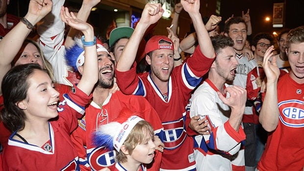 Montreal fans packed local bars during last year's NHL playoffs, but these days things are far quieter.