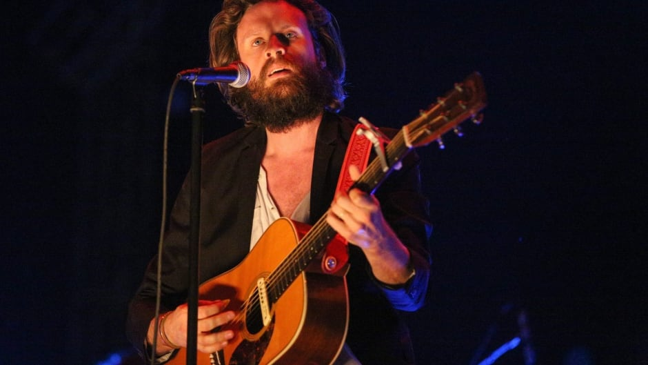 Father John Misty's new album, Pure Comedy, is out April 7. (Photo by Rich Fury/Invision/AP)