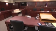 Yellowknife courtroom