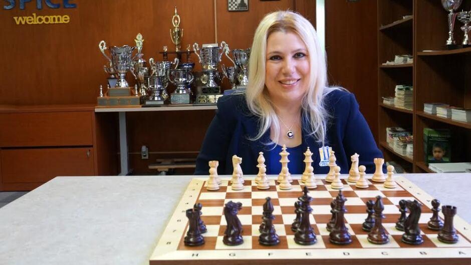 The world's first female Grandmaster, Susan Polgar.