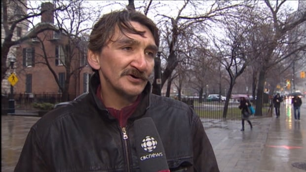 Jerry Natanine, mayor of Clyde River, Nunavut, heads into a Federal Appeals Court hearing in Toronto on seismic testing in April. The consortium of companies that had planned to look for oil and gas in the waters off Baffin Island has cancelled its plans for the summer.