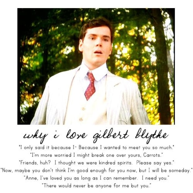 Quotes From Anne Of Green Gables About Friendship : Gilbert blythe lives on through anne of green gables