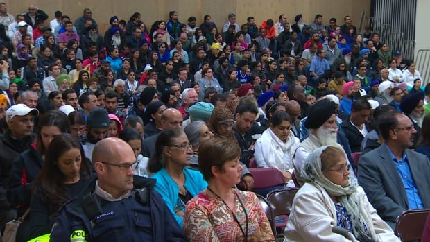 Surrey residents attended a Surrey public meeting in 2015 after a series of shootings left the community rattled.