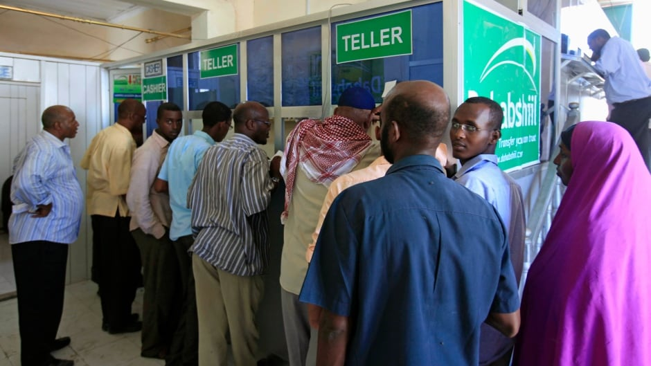 It's a country without a formal banking system of its own, yet its citizens depend on remittances from abroad to survive. Now the one way to get money into Somalia, is coming under attack.