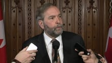 tom mulcair budget 2015