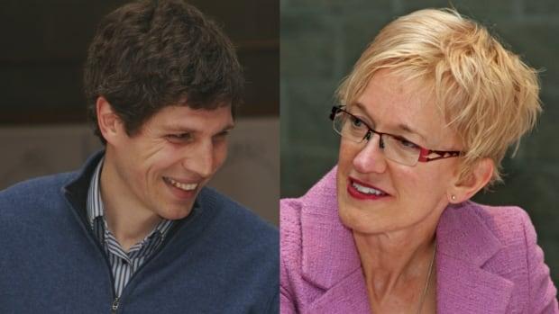 Kamloops City Councillors Donovan Cavers and Tina Lange