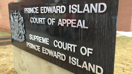 P.E.I. Court of Appeal, Supreme Court sign, spring