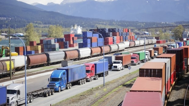 A 2015 report found one in four trucks shipping cargo from Port Metro Vancouver could be replaced by short sea shipping on a barge.