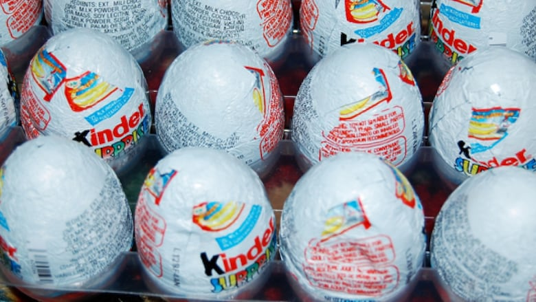 Kinder surprise egg seized from eastern townships man at us border townships didnt know the kinder surprise eggs he bought for his godson in boston were considered illegal contraband in the us brandoncripps flickr sciox Images