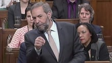 Tom Mulcair presses PM on tax cuts for 'wealthiest few'
