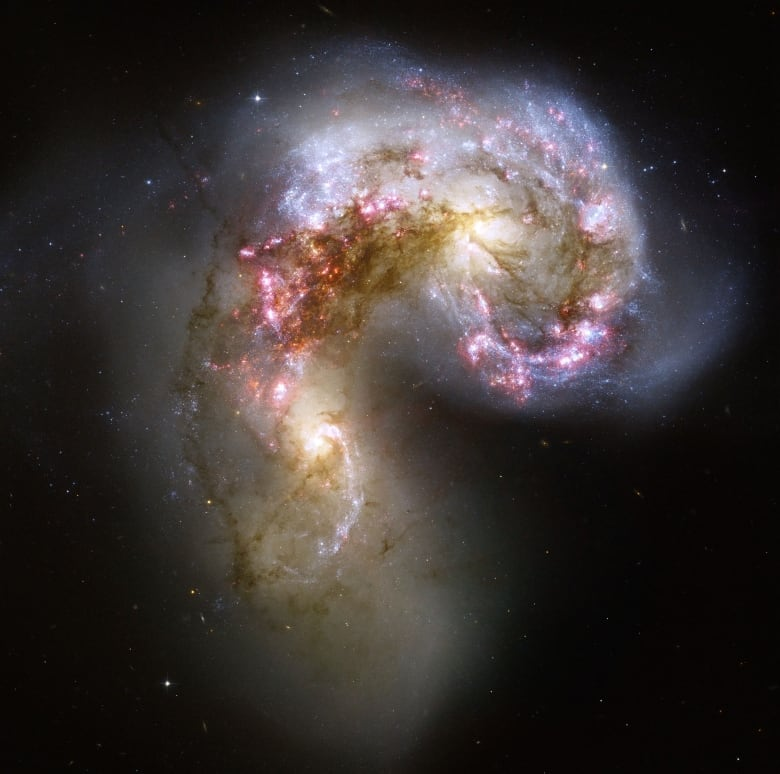 Galactic crash gave Milky Way its cream