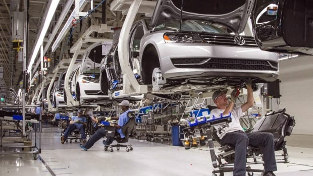 Volkswagen put money into expanding its plant in Chattanooga, Tenn., and its Mexico assembly plant, but it has no Canadian assembly plant.