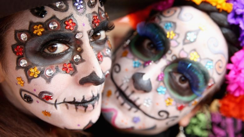 the day of the dead is a colourful joyous celebration of the lives of departed family and friends but its also increasingly becoming a marketing