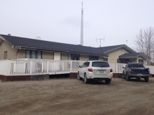 Liard First Nation band office in Watson Lake