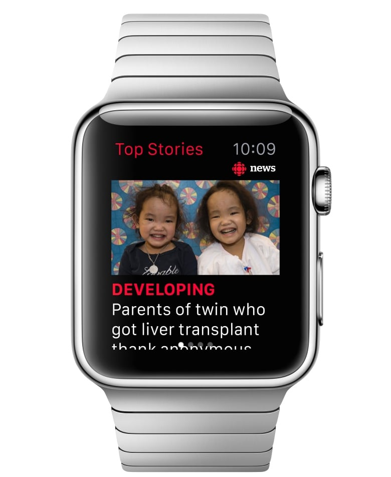 Apple Watch apps could guide visually impaired users