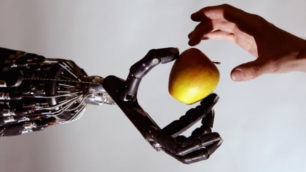 Robot-apple