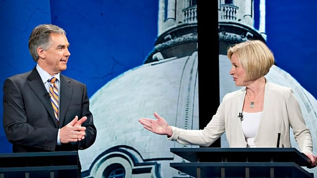 It was mostly the Jim Prentice-Rachel Notley show in the leaders' debate last week as the Conservative and NDP leaders squared off.