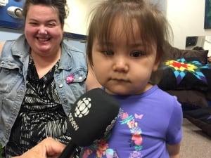 Wesley's daughter Sienna