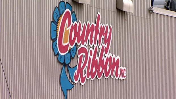 Country Ribbon sign CBC