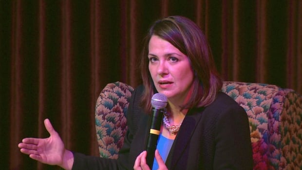 Former Wildrose Party leader Danielle Smith says Alberta's two conservative parties need to unite in the face of an increasingly influential progressive movement, led in large part by the mayors of Calgary and Edmonton.