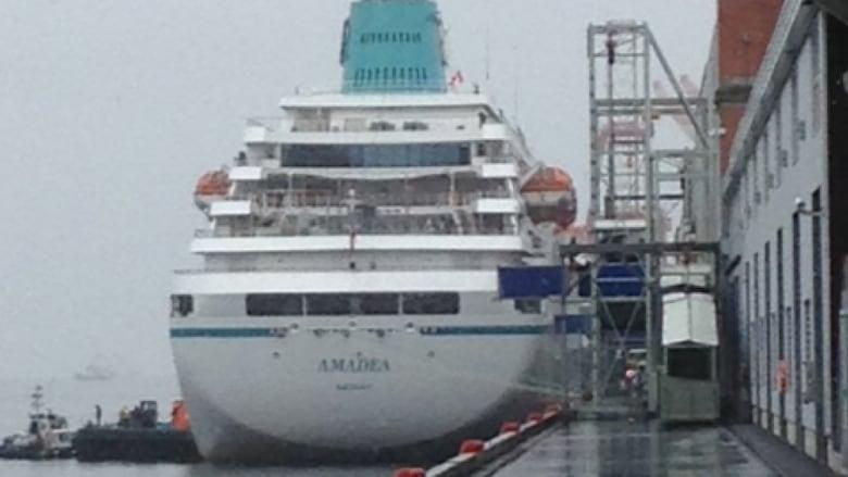 Halifax Welcomes St Cruise Ship Of Season MS Amadea CBC News - Cruise ship amadea