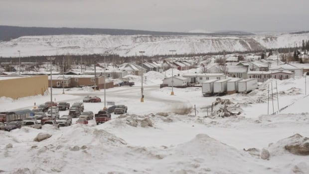 This is the view of the now-closed Wabush Mines from Labrador City.