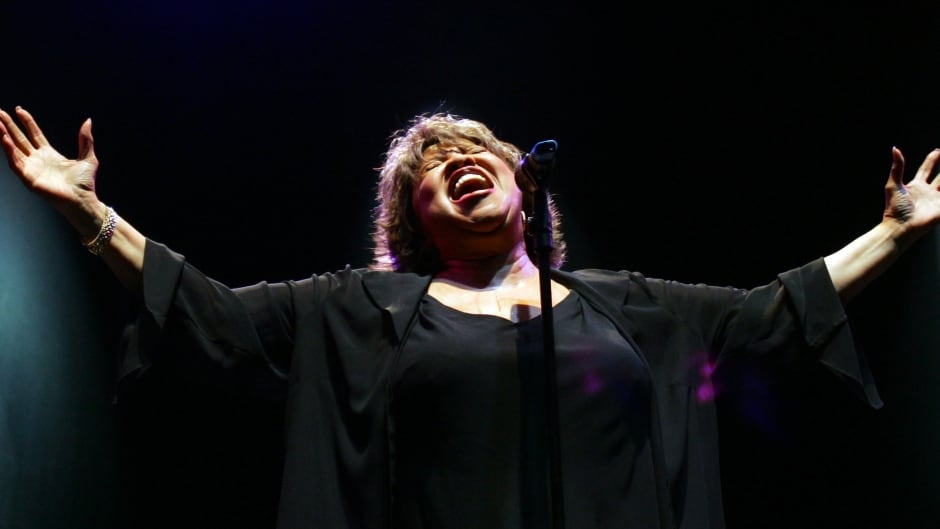 Mavis Staples says that as long as she has a voice, she'll use it.