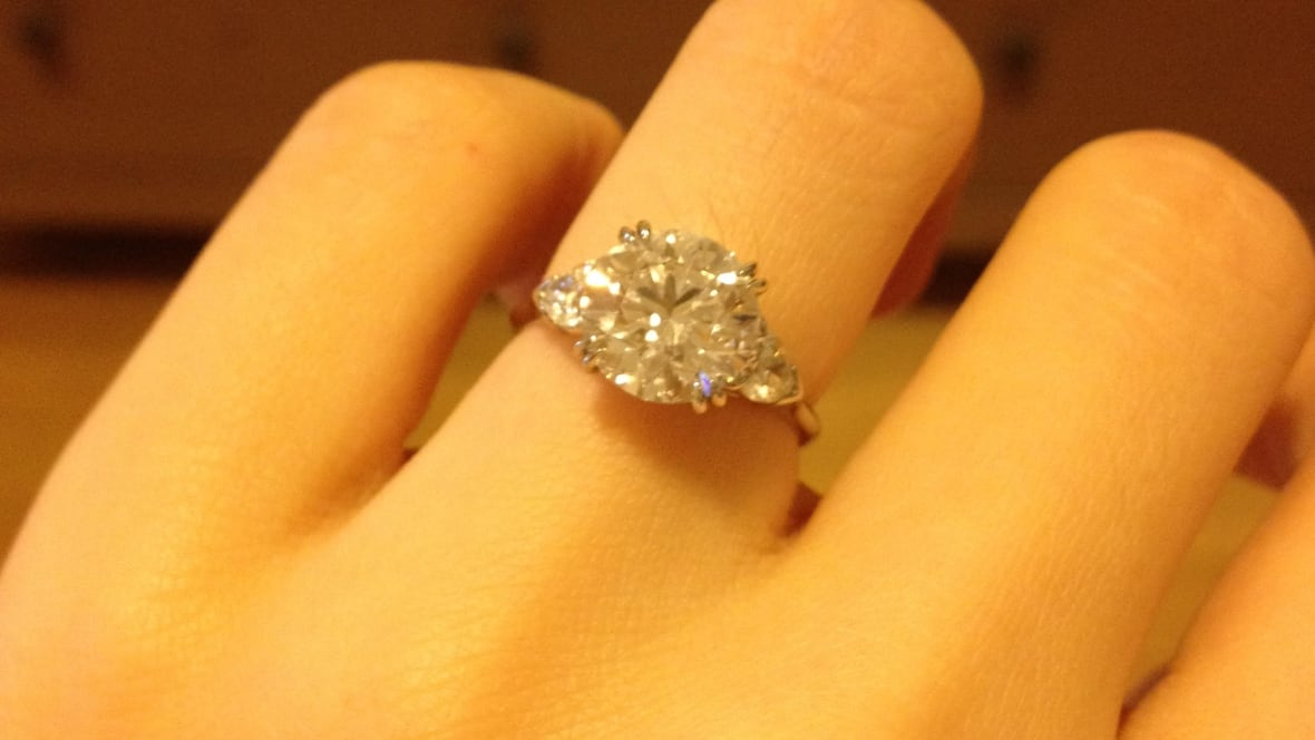 Diamond engagement ring lost at YVR prompts $5K reward offer British Columb