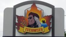 Town of Tecumseh Sign