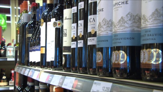 Wines sold outside SAQ outlets face restriction on labelling which include not being able to put the year of the wine or type of grape on the label.
