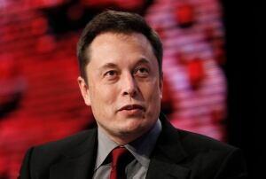 Auto Show Tesla Elon Musk
