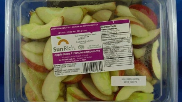 Sun Rich Fresh Foods Inc., in Brampton, Ont., distributes sliced apple snacks for a number of companies across Canada, including grocery stores, Starbucks and Subway.