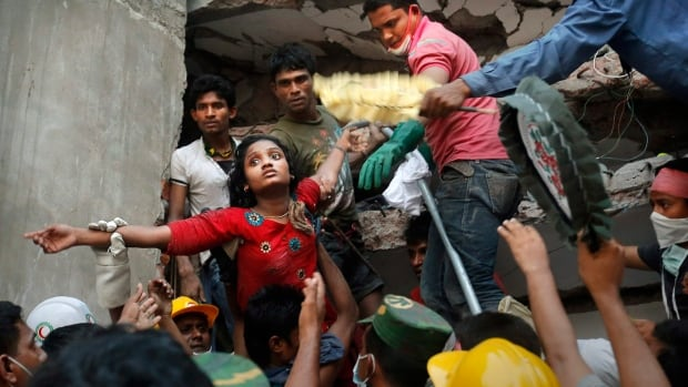 More than 1,000 workers were killed when the Rana Plaza factory near Dhaka in Bangladesh collapsed two years ago.