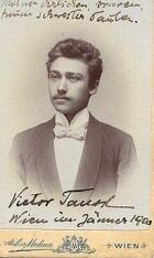 Victor Tausk 1900