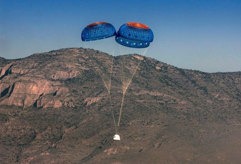 Jeff Bezos's rocket company Blue Origin test-flies suborbital spaceship