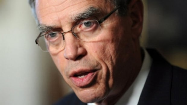 Finance Minister Joe Oliver touted measures in the federal budget in a speech to the Canadian Club on Monday.