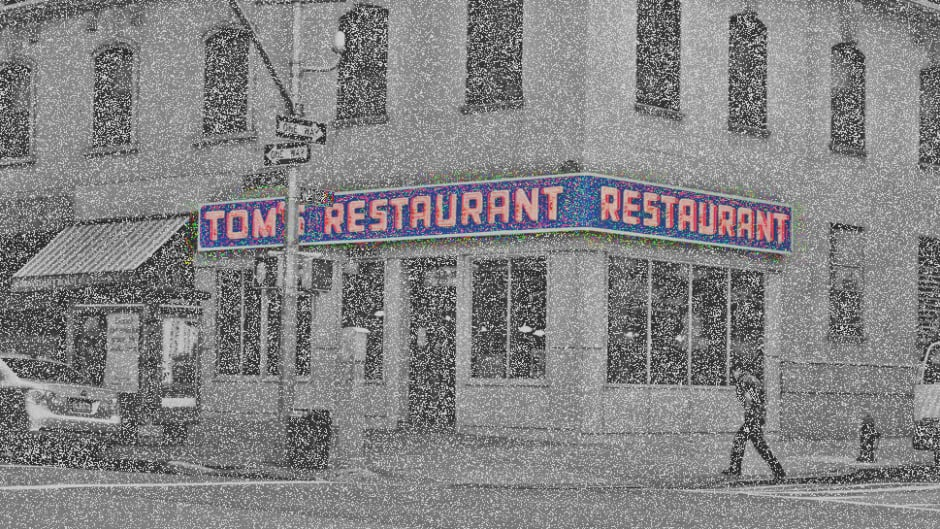 """The inspiration for Suzanne Vega's """"diner on the corner"""" (also made famous by the TV show Seinfeld.)"""