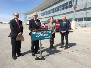 Airline fuel tax rebate announcement