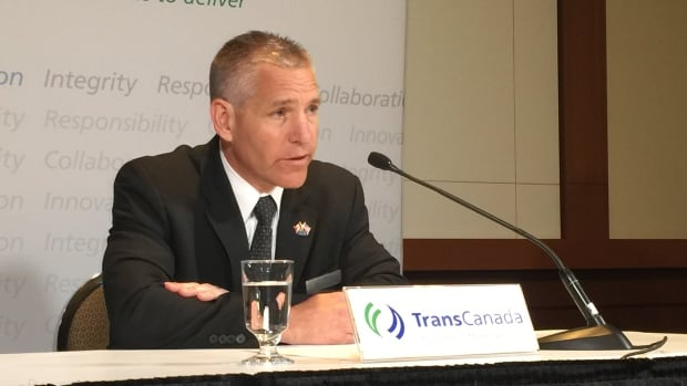 TransCanada CEO Russ Girling answers questions about the current Alberta election campaign at the company's AGM.