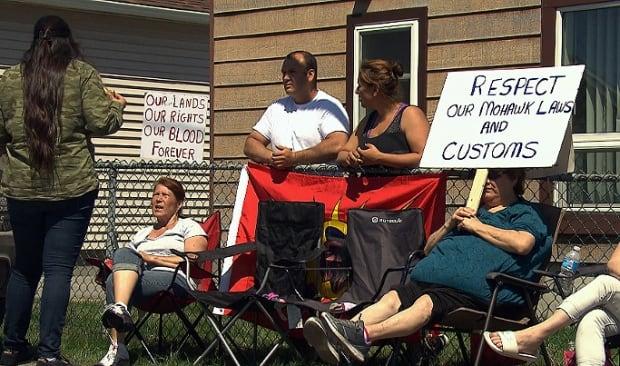 Kahnawake protest